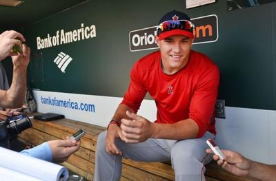 Millville S Mike Trout 20 Quickly Becoming A Major League Baseball