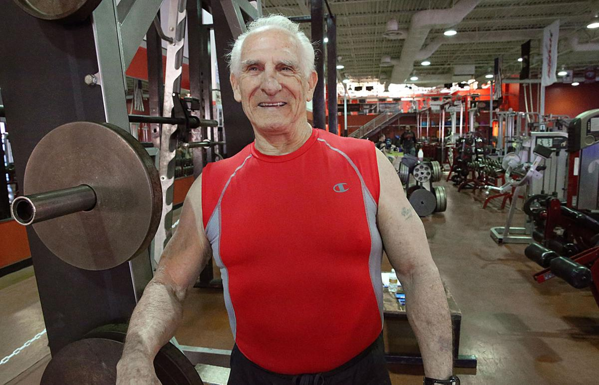 80-year-old Powerlifter Ray O'Brien