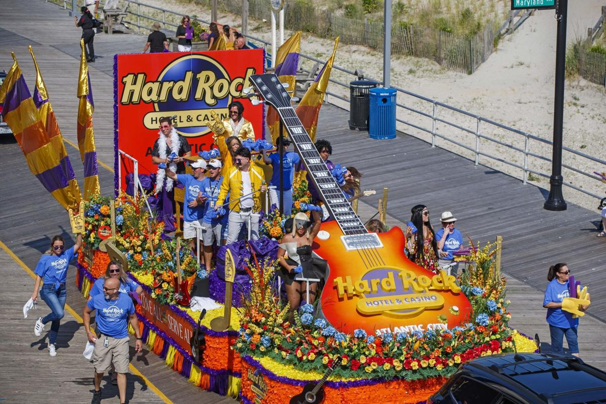 Hard Rock celebrated its one-year anniversary with Boardwalk parade
