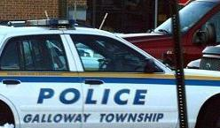 Galloway police car