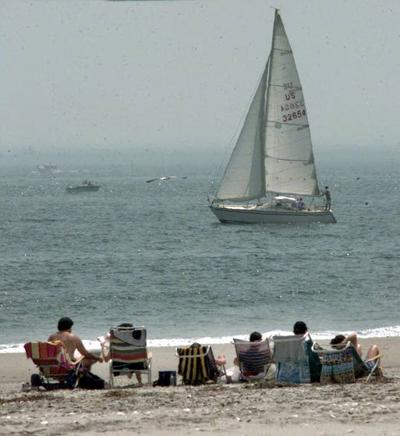 Moms Beaches Longport