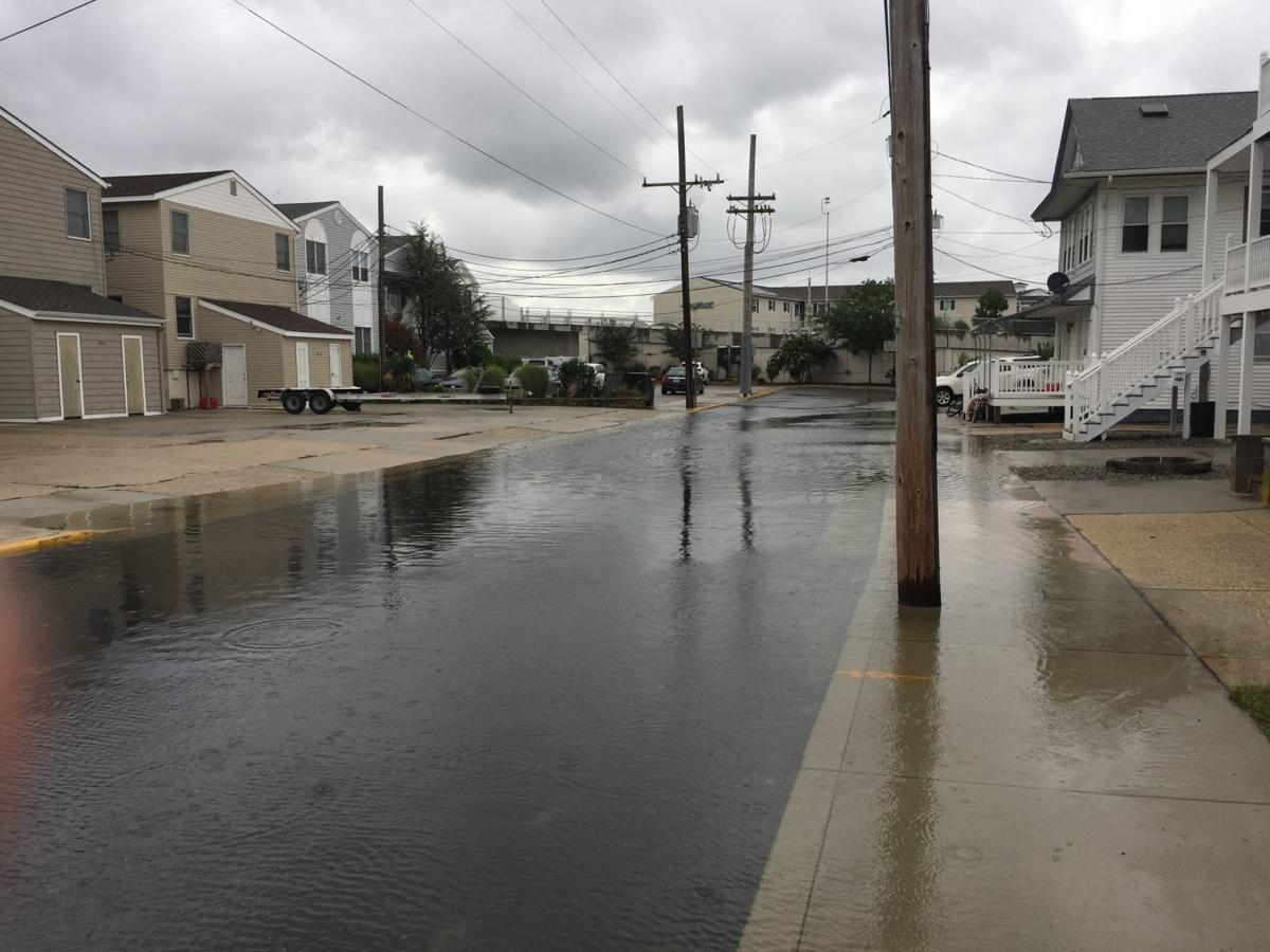 Flooding near 9th Street Bridge Ocean City