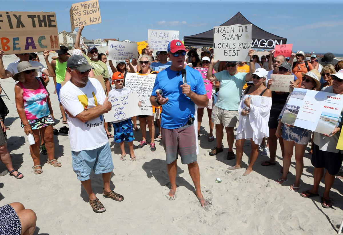 Margate Dune Project Rally Protest