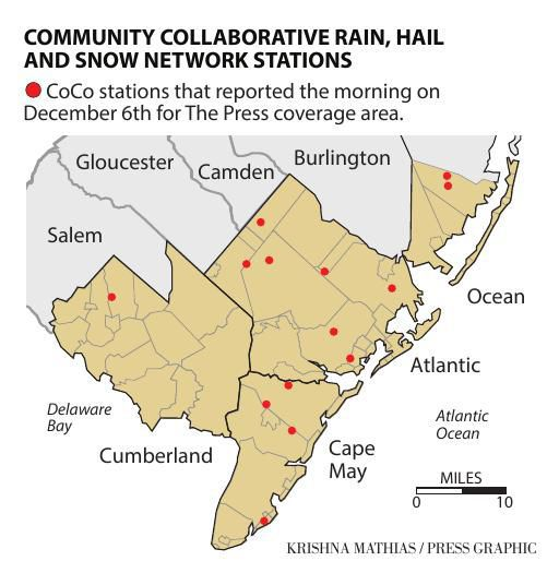 COMMUNITY COLLABORATIVE RAIN, HAIL AND SNOW NETWORK STATIONS