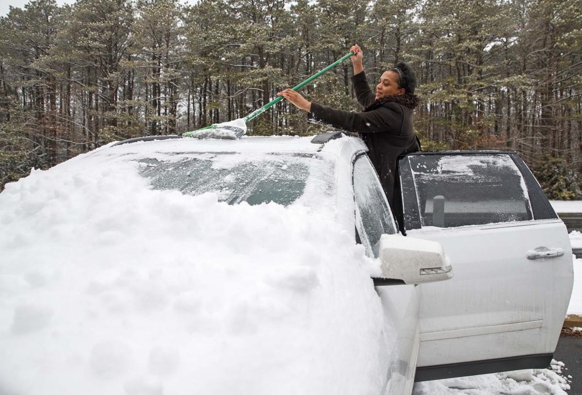 South Jersey receives Snow