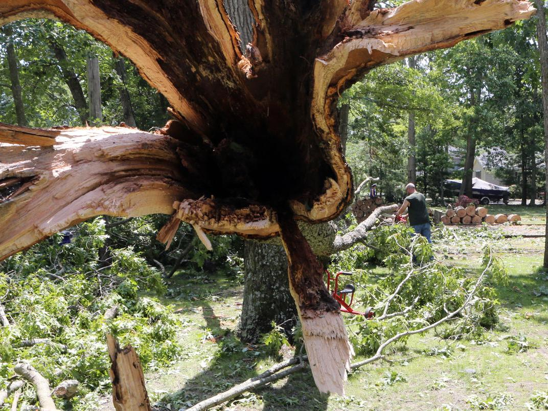 Storm Clean up in Green Creek