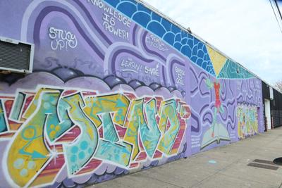Artists to create murals throughout the city next week