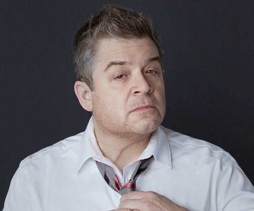 Patton Oswalt shot for cover
