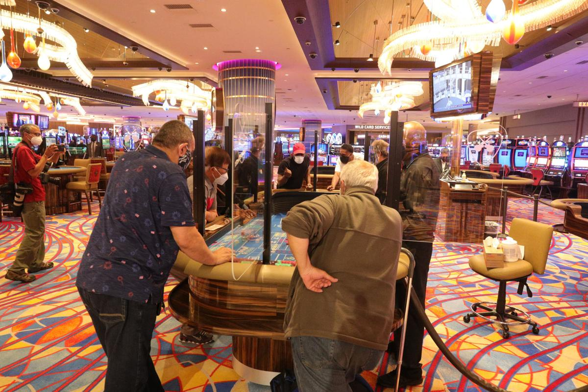 Atlantic City Casino reopen