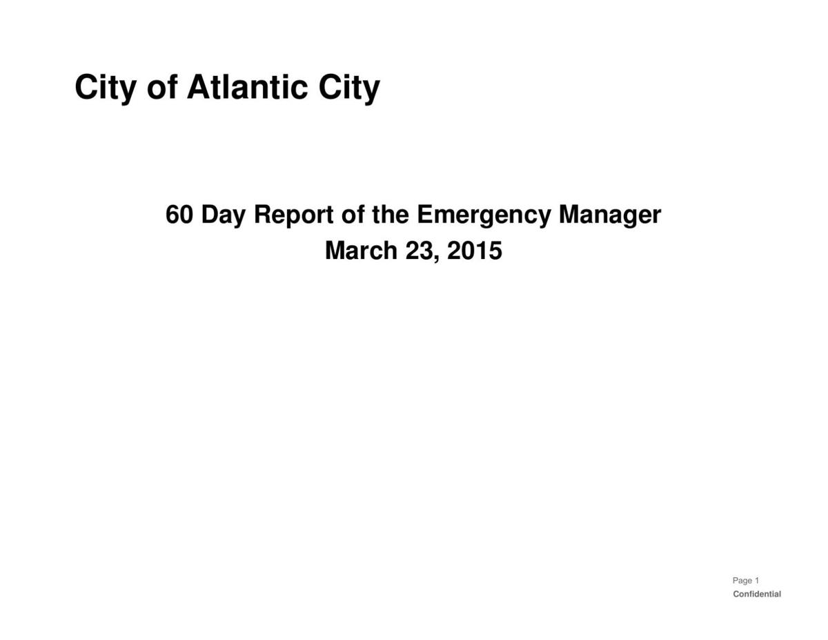 AC Emergency Management Report