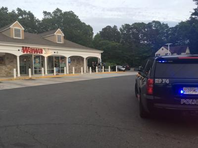 Galloway Township police at Route 9 Wawa