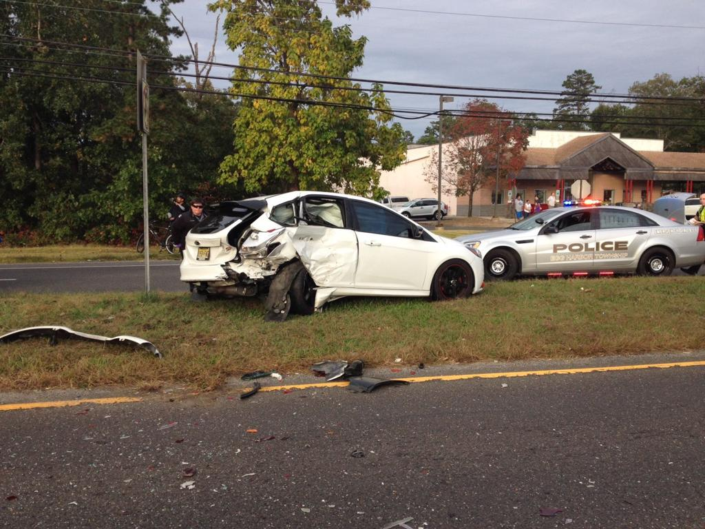 2-car crash closes parkway ramp in Egg Harbor Township | Atlantic ...