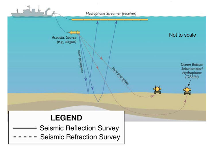 Seismic testing graphic