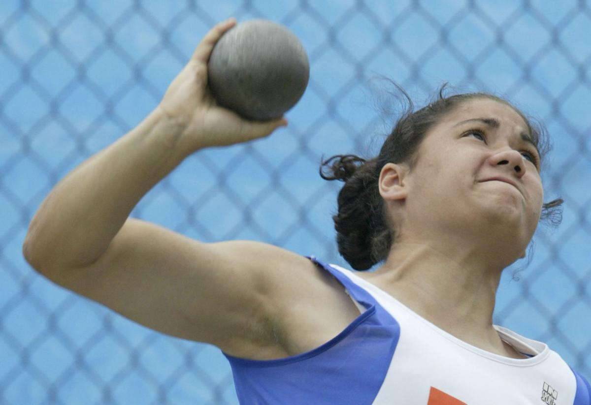 Sylvia Galarza, track and field, 2004