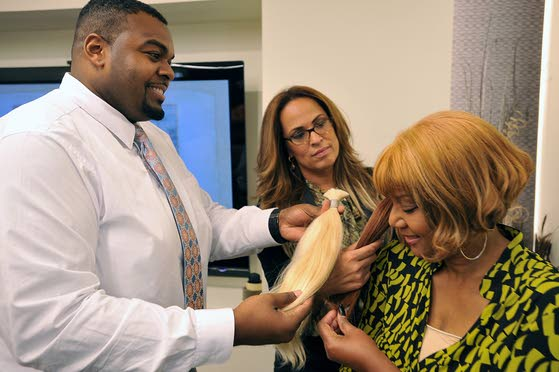 Hair salon's donation to help cancer patients