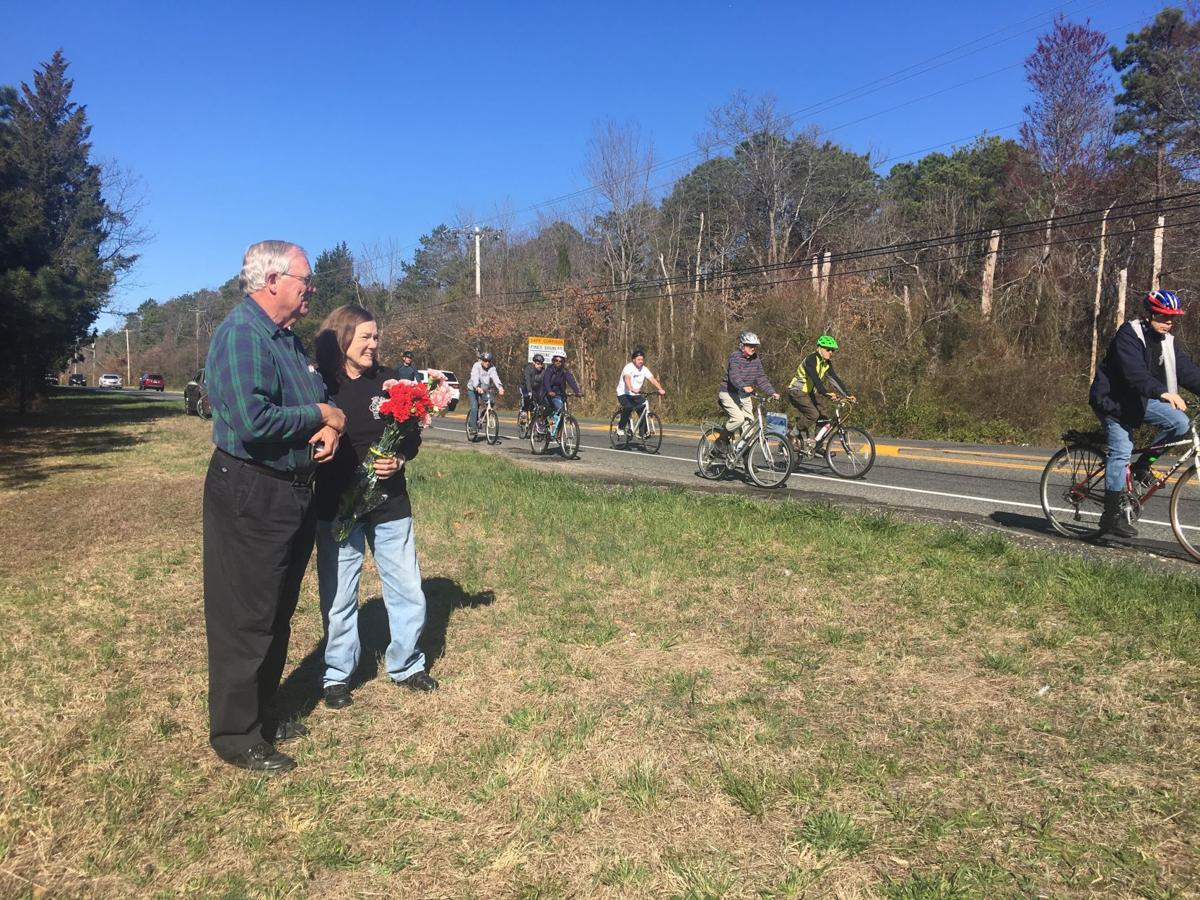Lauren Davies Cycling: Cyclists Ride In Silence In Memory Of Pleasantville