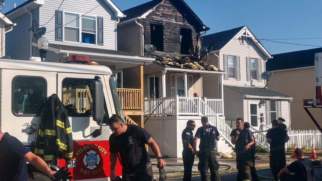 Sunday morning fire displaces Atlantic City family