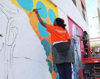 48 Blocks Mural project