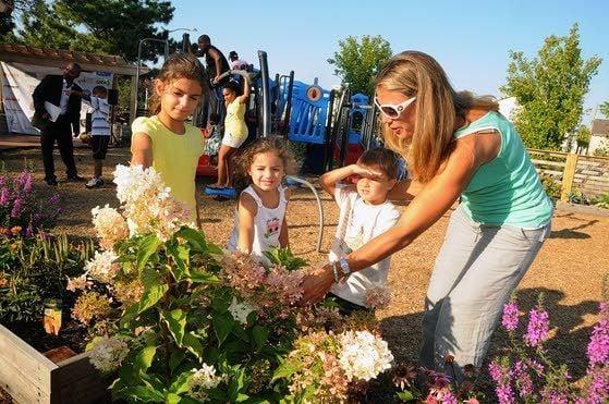 Community garden and park dedicated in A.C. near United Methodist Church