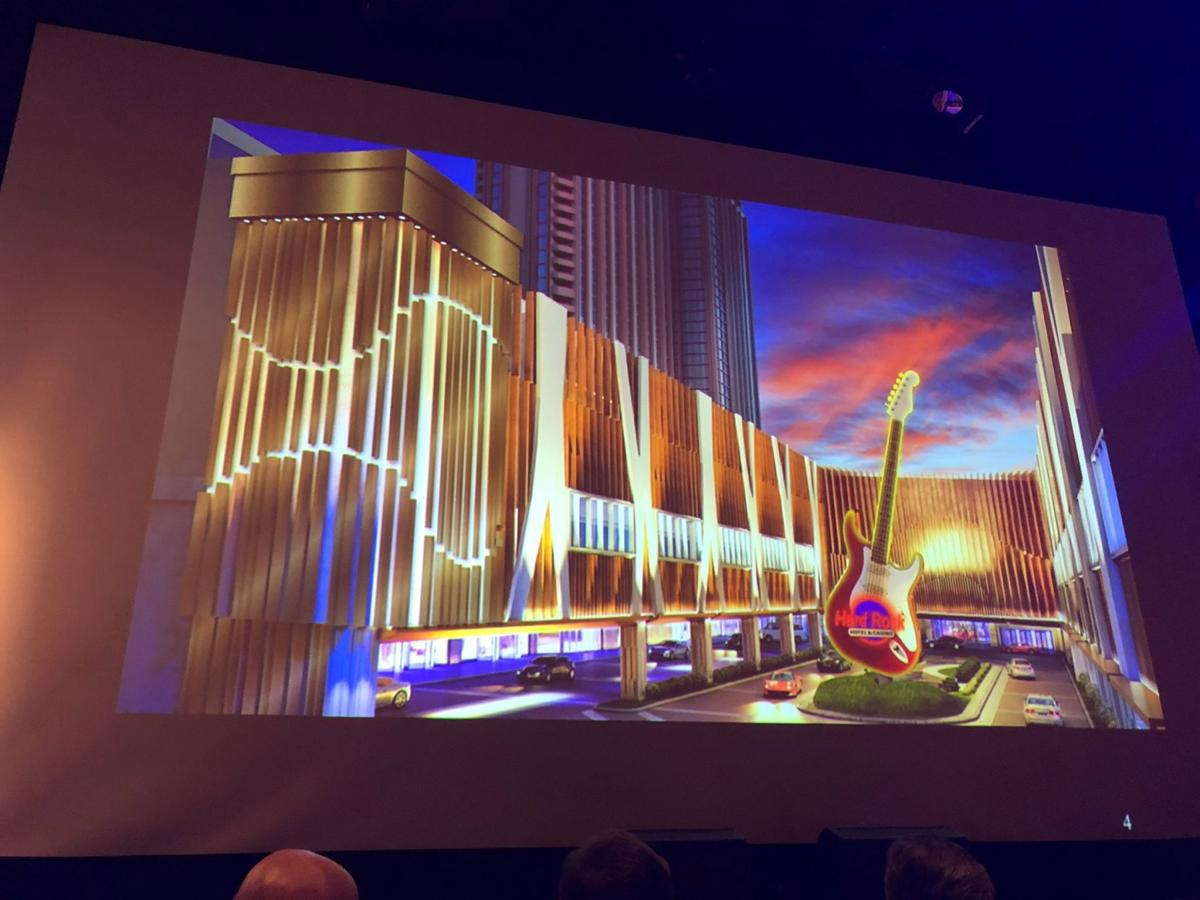 Hard Rock Hotel Casino Atlantic City Reveals Aesthetic Mock Ups At