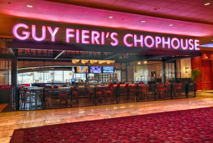 Guy Fieri Opens Steakhouse In Bally S
