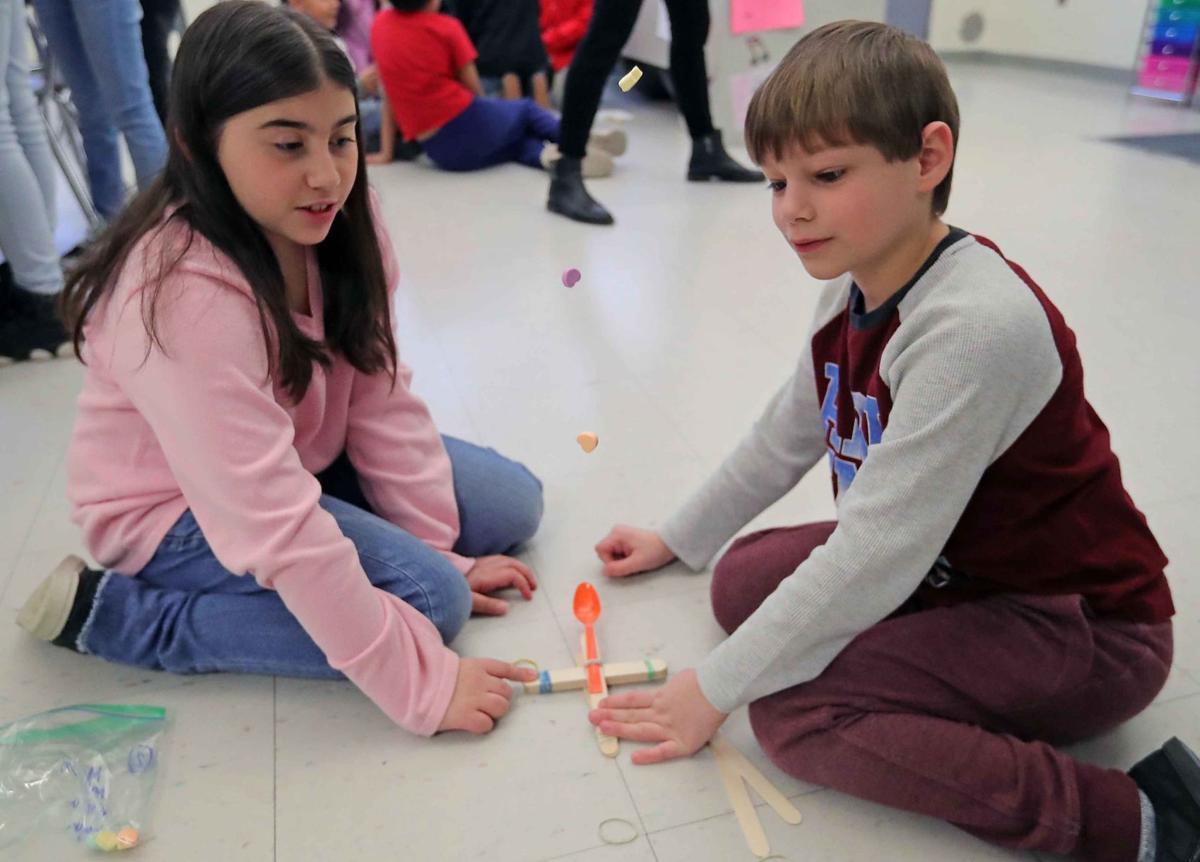 Miller Elementary School celebrates Valentine's Day