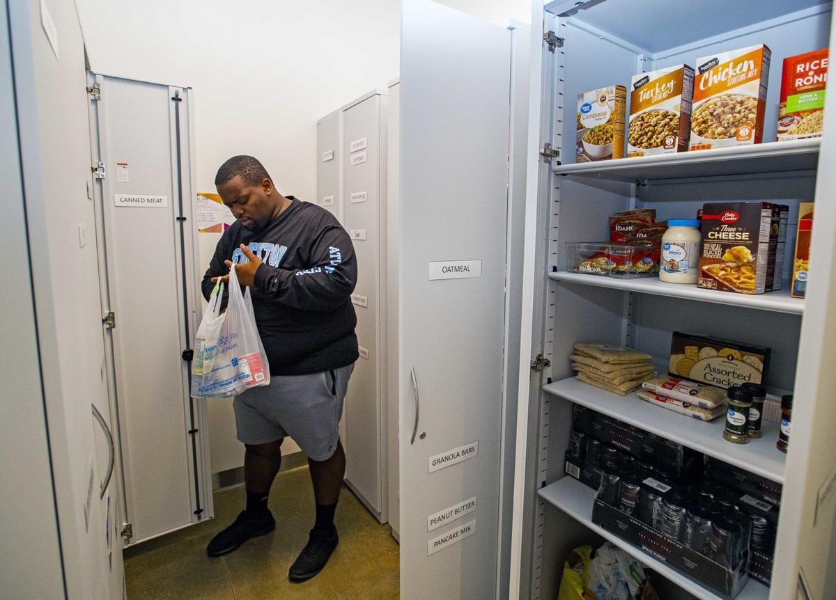 Food pantry at Stockton's Atlantic City campus