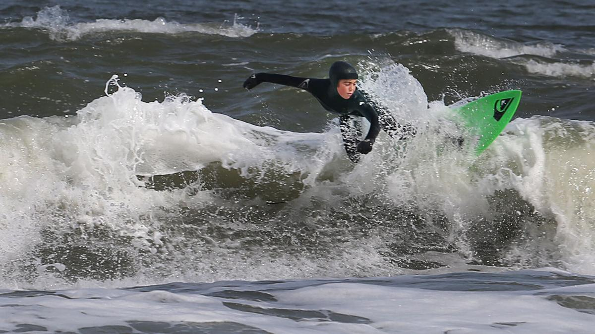 Seamus Carey 10 Year Old Surfer