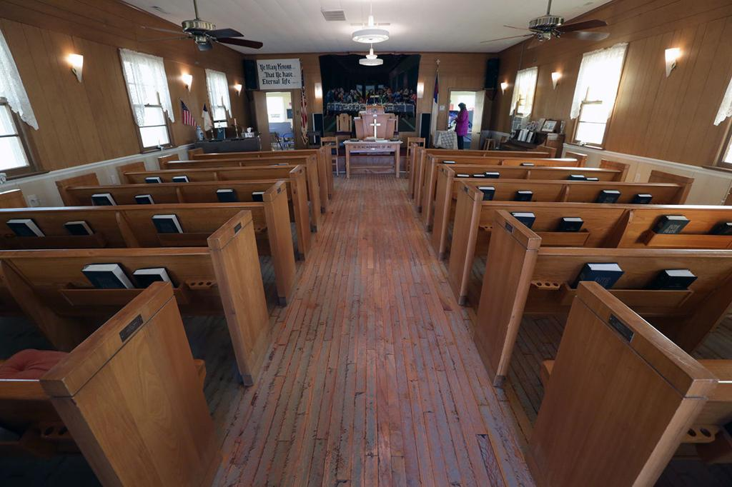 W  Wildwood church determined to recover again after