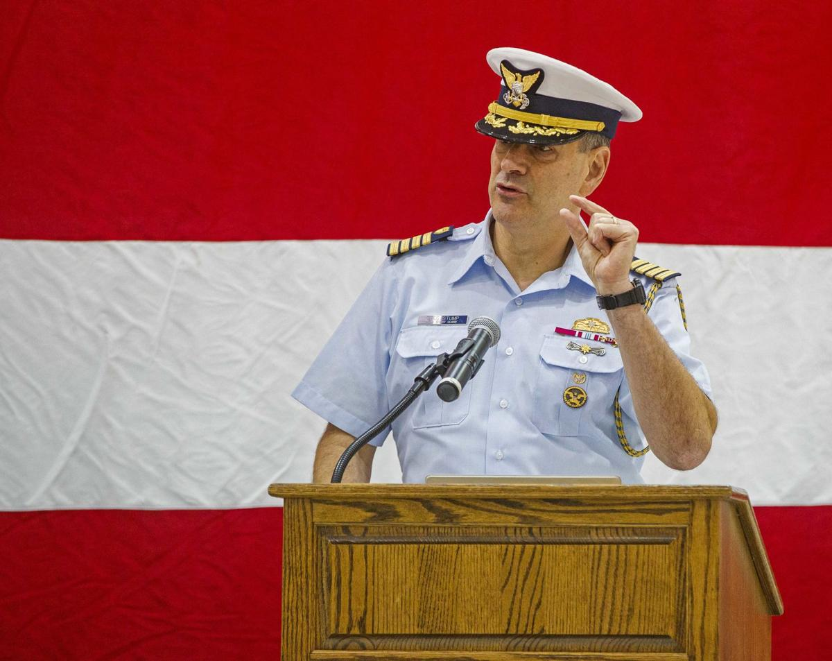 U.S. Coast Guard Medal Ceremony