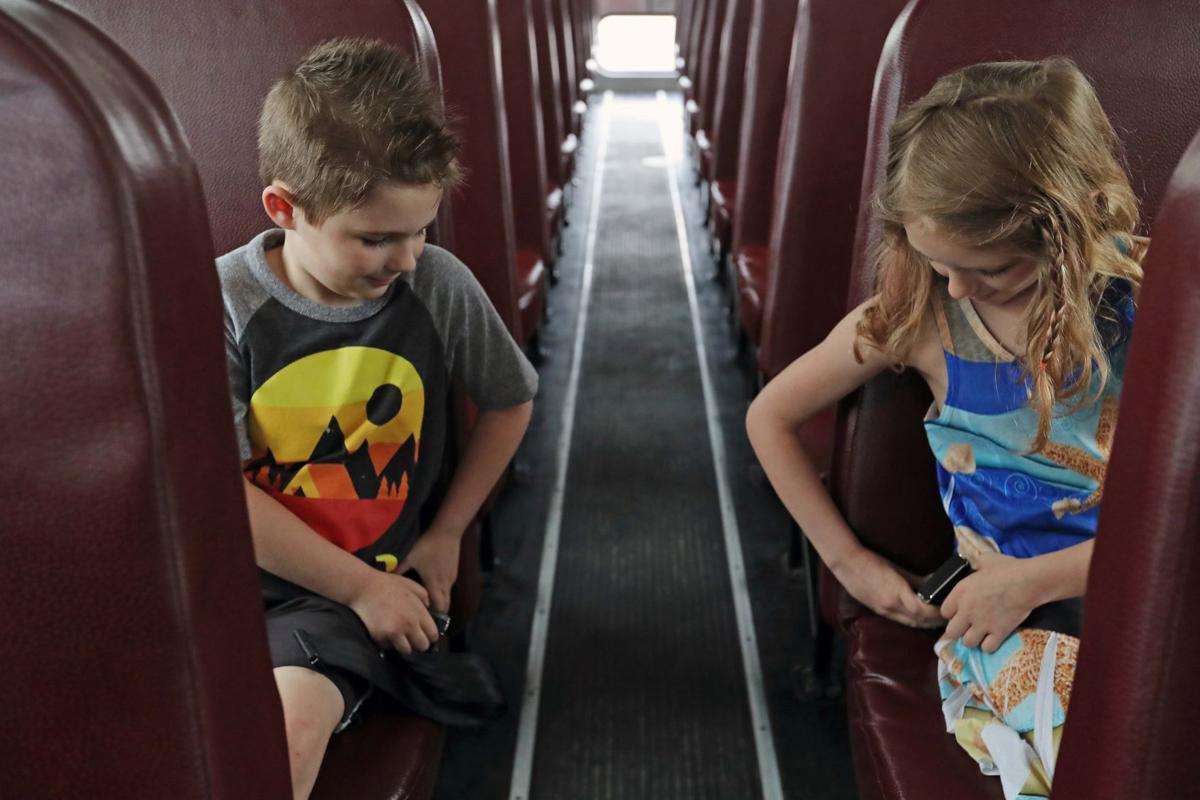 Bus seatbelt safety