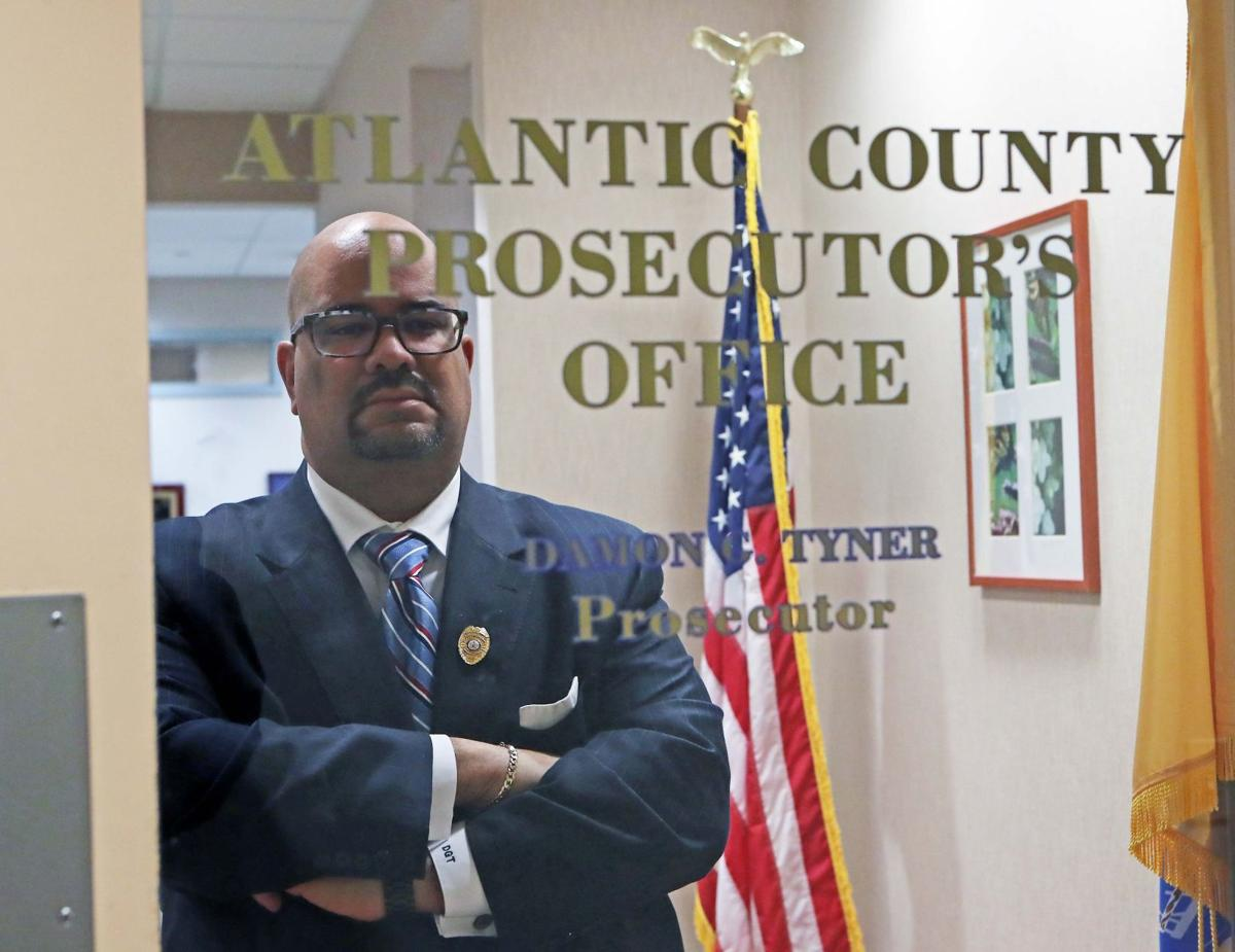 Atlantic County Prosecutor Damon G. Tyner
