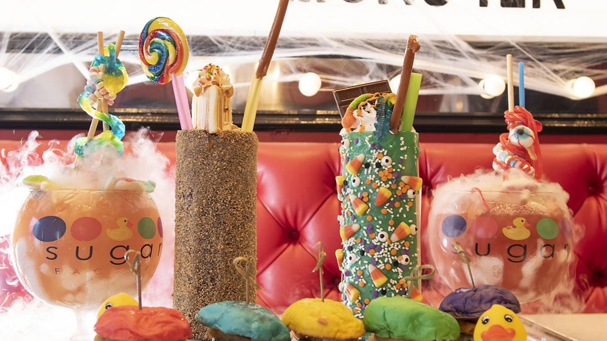 Hard Rock's dining scene offers a sweet option with Sugar Factory