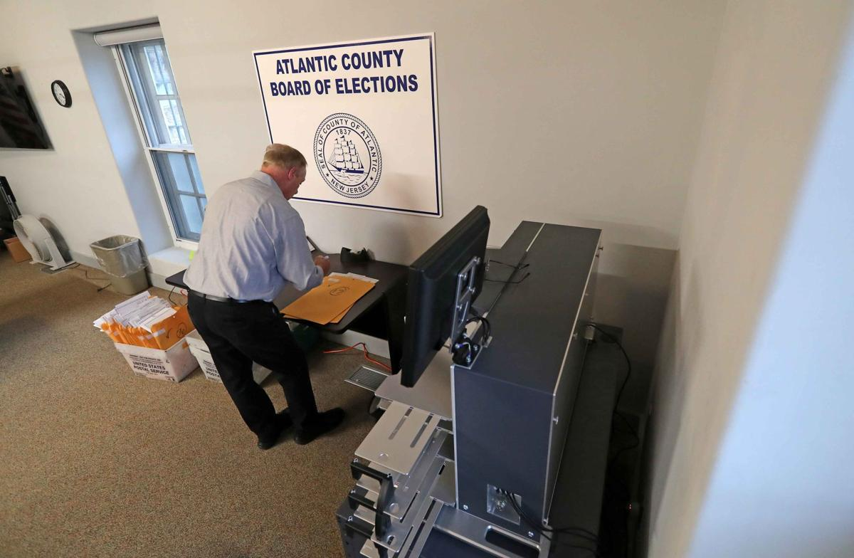 Mail-in ballots counting