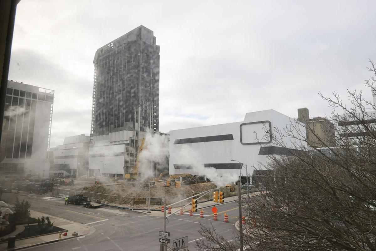 Demolition of Trump Plaza Hotel and Casino
