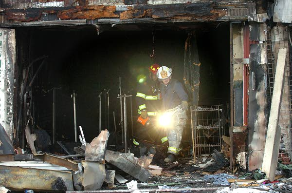 Central Pier fire investigation