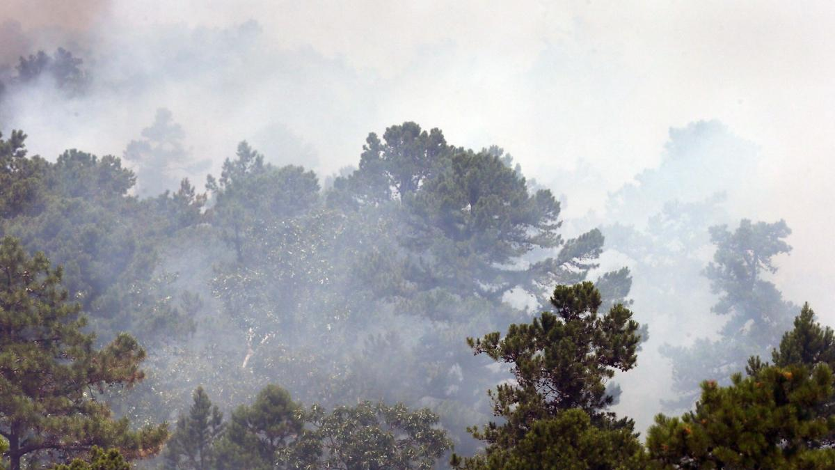 GALLERY: Wharton State Forest fire burns through 2,800 acres