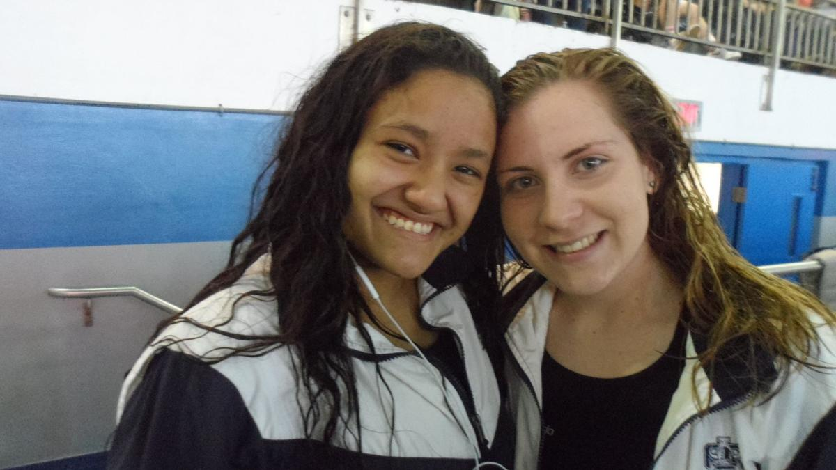 SEEN at the 2018 Hackney girls swim meet at Atlantic City