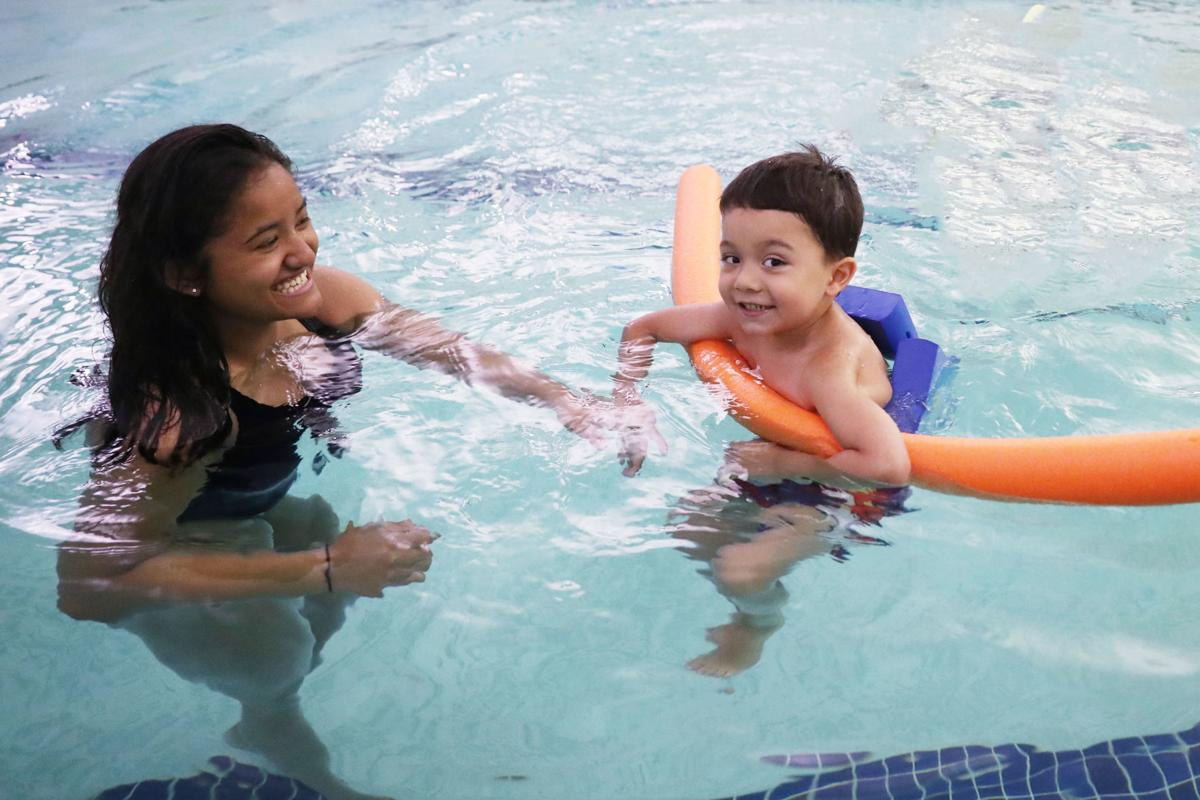 Swimming program for children with special needs