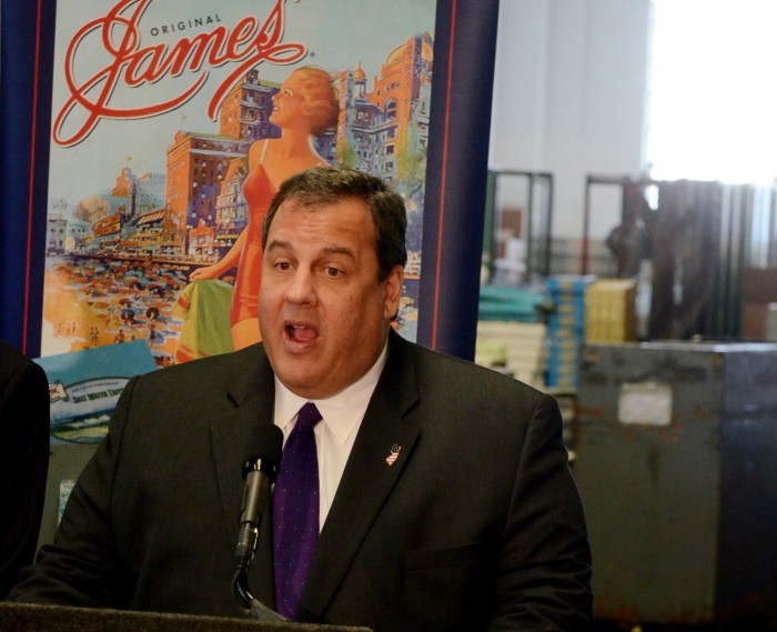 Gov. Chris Christie visits James Candy Co. in Atlantic ...