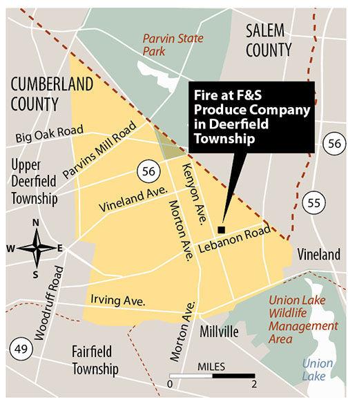 Fire F&S Produce Company map 6-2019