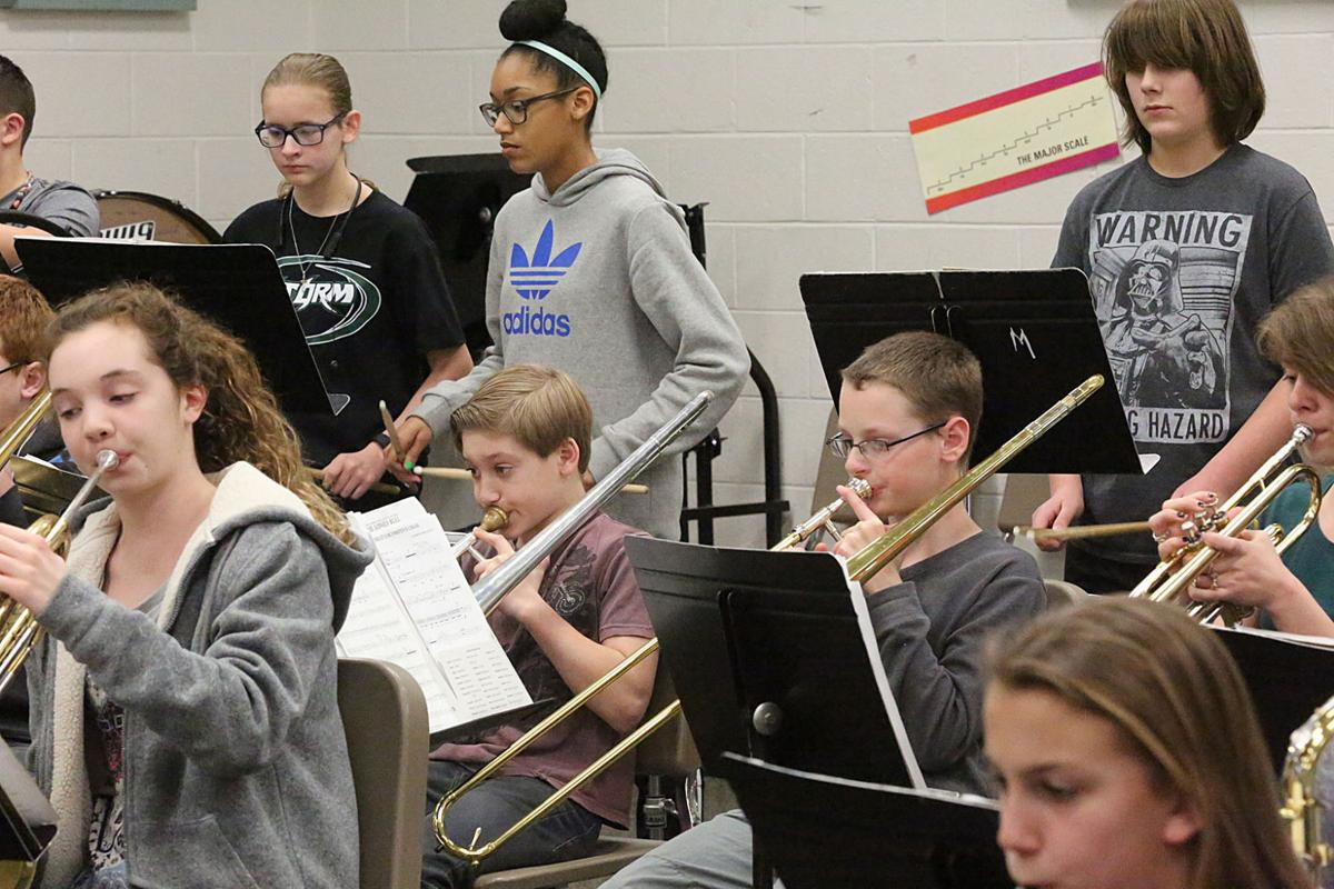 Millville Lakeside Middle School Band Class