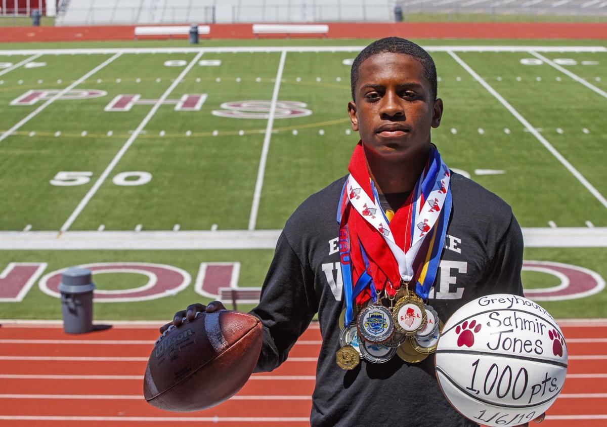 Pleasantville's Sahmir Jonees is the Press Male Athlete of the Year