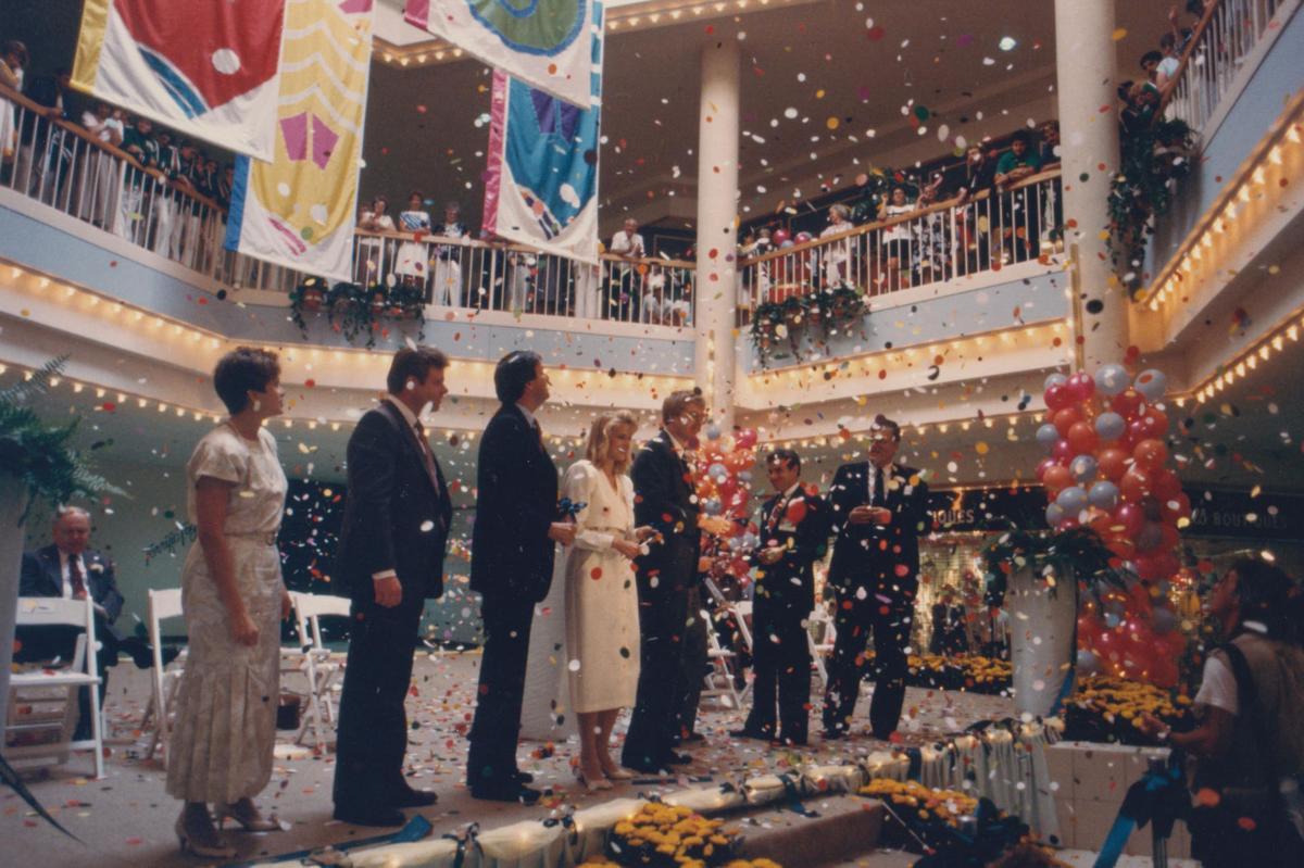 Hamilton Mall opening 2