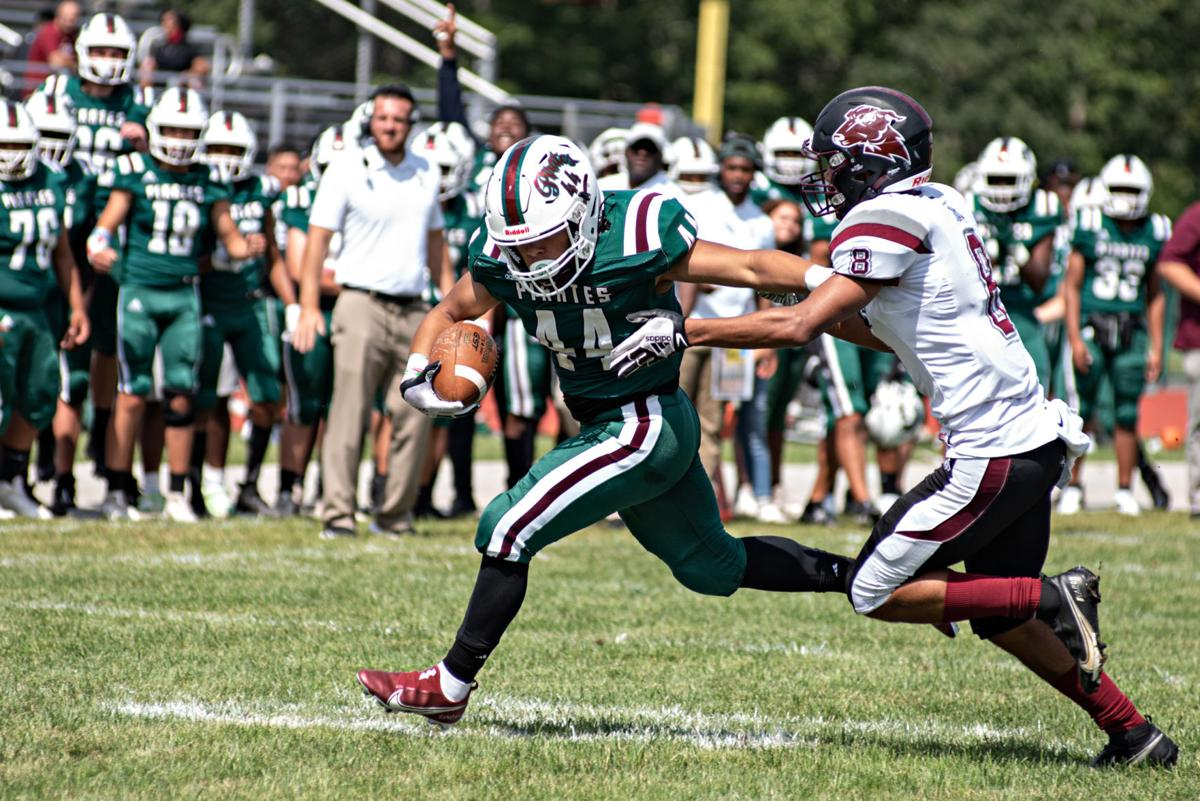 Secondary high school football photo for B1 for Sunday, Sept. 12