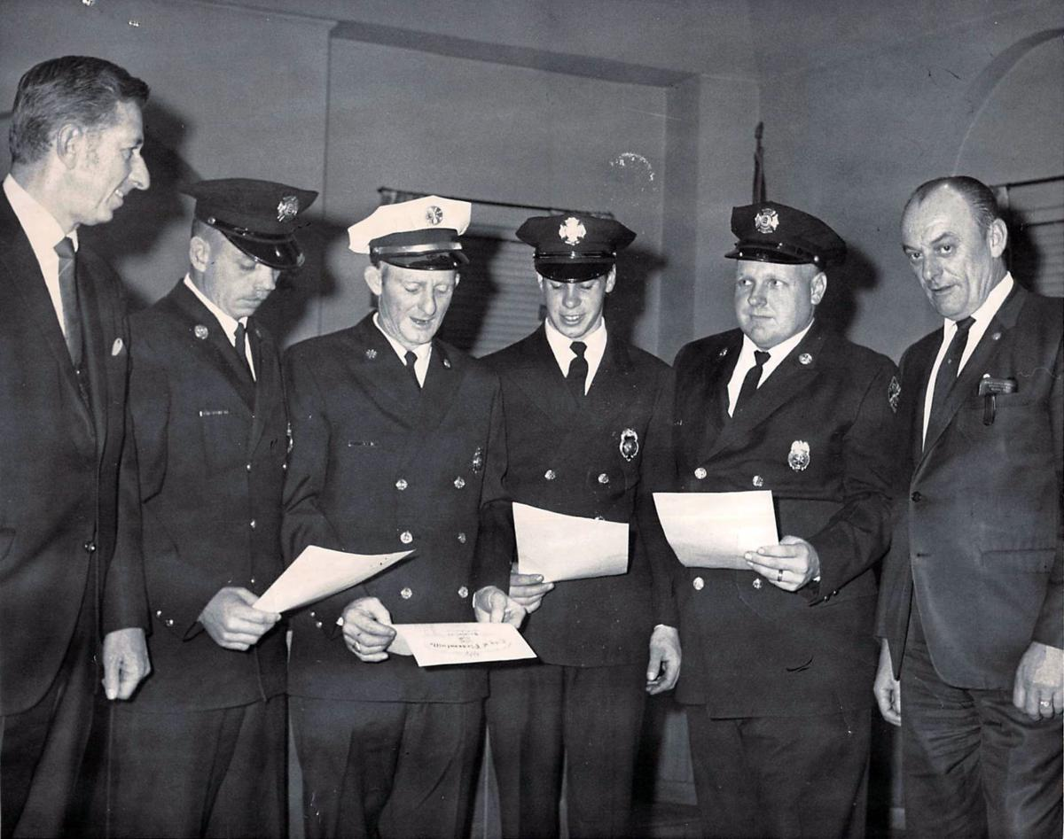 Look back at local fire departments