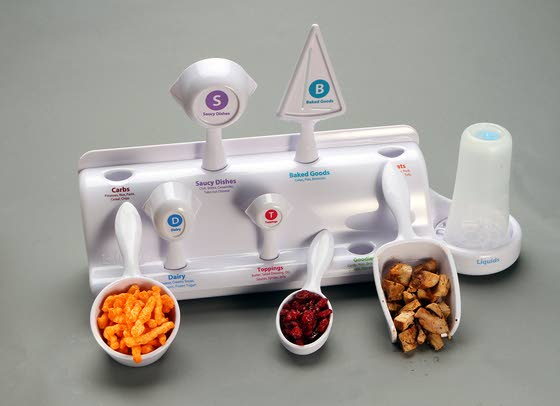 A 'lifesize' measure of portion control
