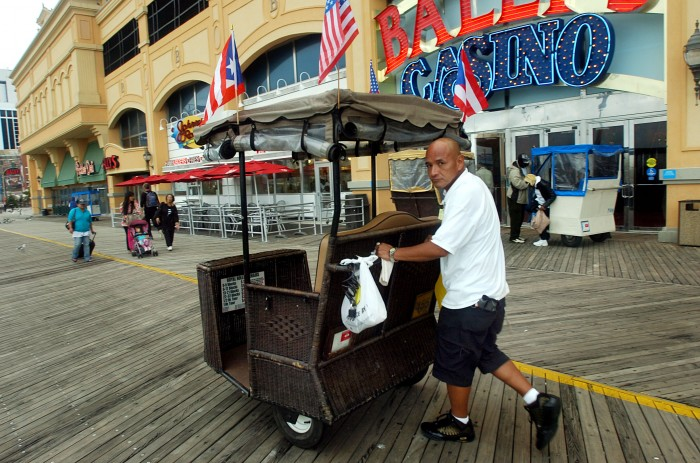 Atlantic City officials say there are too many rolling chairs on