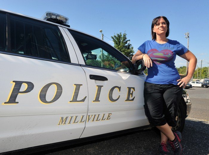 Grieving Millville police officer's wife wants to return to the