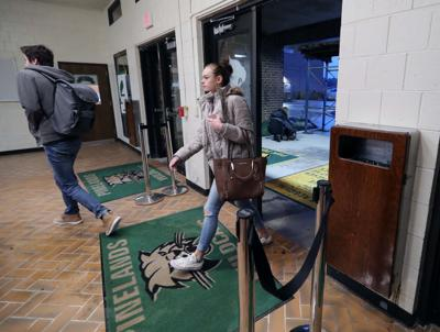 Students return back to Pinelands Regional High School